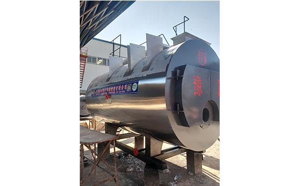 2吨冷凝一体燃气锅炉发货