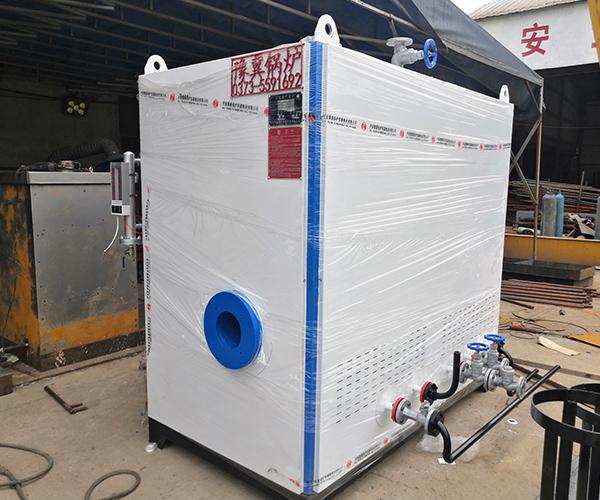 卧式蒸汽发生器出厂前调试