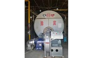 6吨低氮锅炉开始正常运行