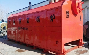 2吨链条锅炉装车发往山东