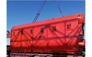 我司生产锅炉直奔青岛港口装船,岀口尼日利亚!