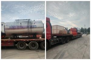 出口乌兹别克斯坦4吨燃气锅炉一套