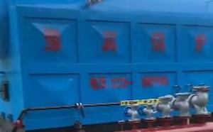 6吨生物质链条炉贵州安装现场