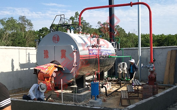 4吨燃气蒸汽锅炉