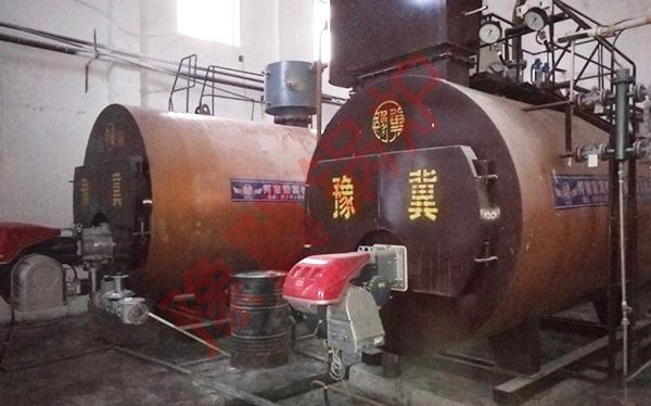 全自动燃油燃气蒸汽锅炉